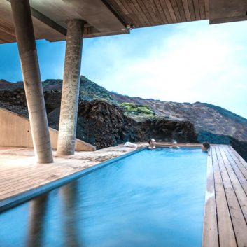 hebergement islande piscine
