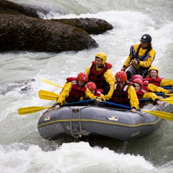 Rafting sur les rivières