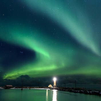 séjour aurores boréales et sources chaudes