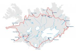 carte circuit islande
