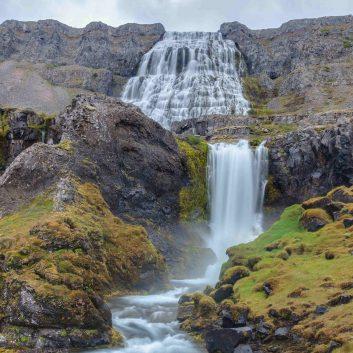Dynjandi cascade islande