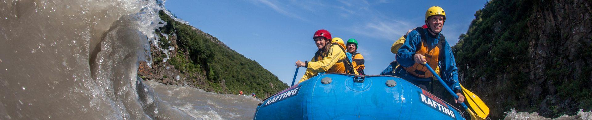rafting vacances islande