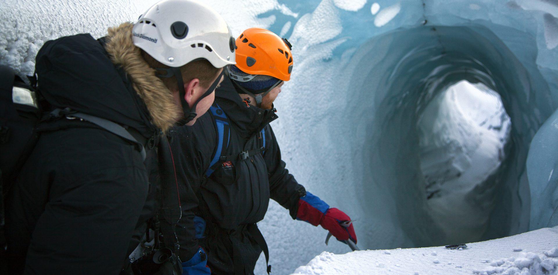 islande randonnée glacier