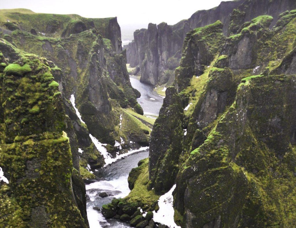 Canyon de Fjaðrárgljúfur