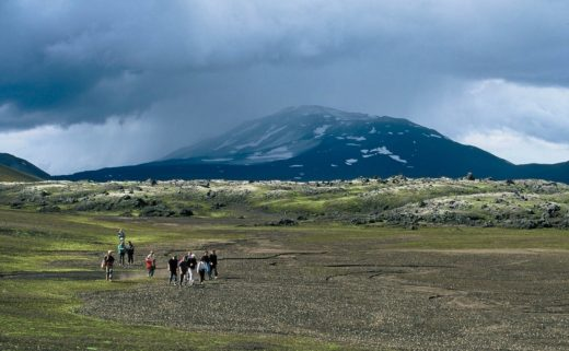 View of Hekla