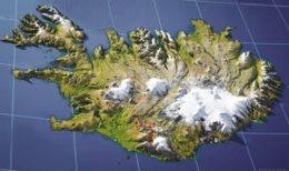 Carte du trek de Hekla au Landmannalaugar